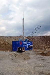 Инсинератор для утилизации отходов ООО «Нерюнгри-Металлик»