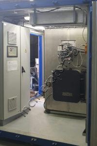 Инсинератор утилизации производственных отходов