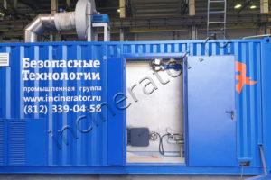 Печь утилизации производственных отходов