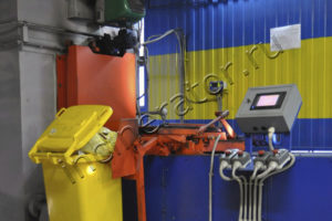 Автоматическая загрузка медицинских отходов