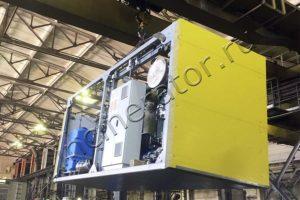 Инсинератор для обезвреживания отходов полигона АО «Полюс Алдан»